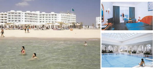 Tunisia hotels reservations for Mouradi hammamet 5 chambre